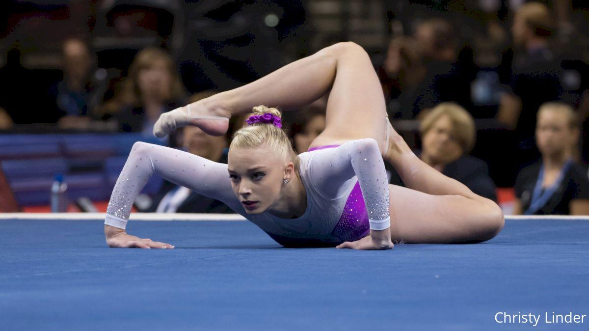 Alyssa Baumann floor flash pgs