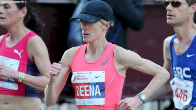 Deena Kastor Withdraws From Olympic Marathon Trials