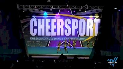 Windsor Knights Elite - Watermelon [2021 L1 Performance Recreation - 10 and Younger (NON) Day 2] 2021 CHEERSPORT National Cheerleading Championship