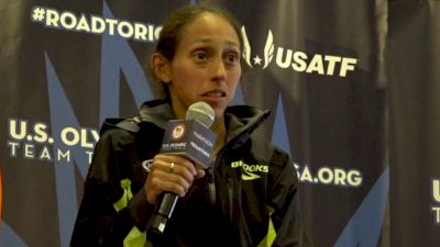 Desiree Linden On 'The Toughest 26.2 Miles Ever'