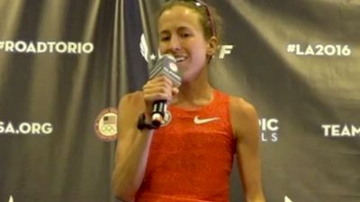 Amy Cragg On Teamwork With Shalane Flanagan And Her Courageous Effort