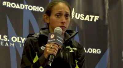 Desiree Linden On Why She Didn't Cover The Early Decisive Move