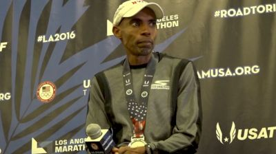 Emotional Meb Keflezighi Talks About His Inspiration During Olympic Trials Marathon