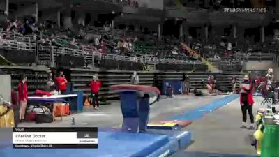 Charlise Doctor - Vault, Illinois State University - 2021 GymQuarters Invitational