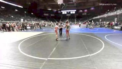 123 lbs Rr Rnd 1 - Makynna Loepp, Wcw vs Adrianna Lopez, Pine Creek