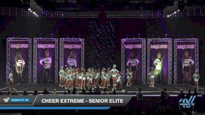 Cheer Extreme - Kernersville - Senior Elite [2019 Large All Girl Day 1] 2019 The MAJORS