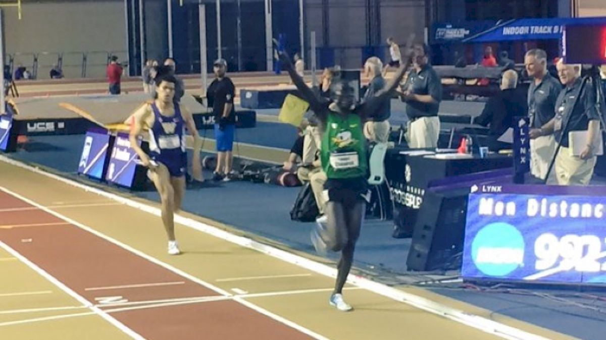 Cheserek Anchors DMR In 3:52 Just 30 Minutes After 5k Victory!!
