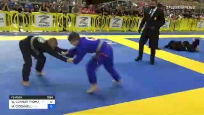 WILLIAM CONNOR THOMAS vs MAXIMUS O'CONNELL 2021 Pan Kids Jiu-Jitsu IBJJF Championship