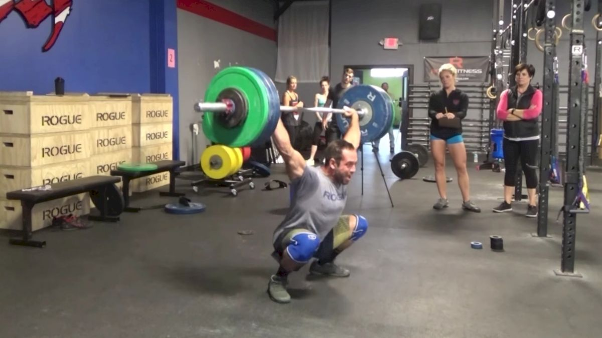 Dave Castro Announces A Max Event At The 2017 Reebok CrossFit Games