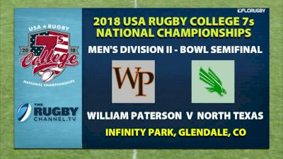 Men D2 Bowl SF WPU vs UNT