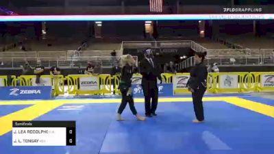 JEANETTE LEA RODOLPHO vs JANUARY L. TONGAY 2020 World Master IBJJF Jiu-Jitsu Championship