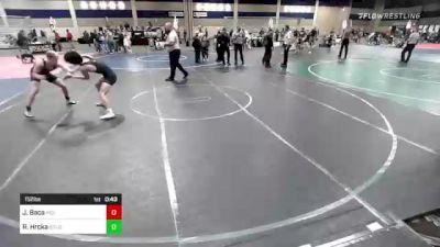 152 lbs Consolation - Julian Baca, Vici WC vs Ryan Hrcka, Gold Rush Wr Ac