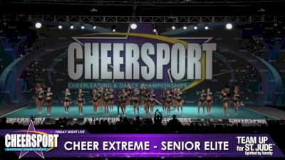 Cheer Extreme - Kernersville - Senior Elite [2020 L6 Senior Large Day 1] 2020 CHEERSPORT Nationals: Friday Night Live