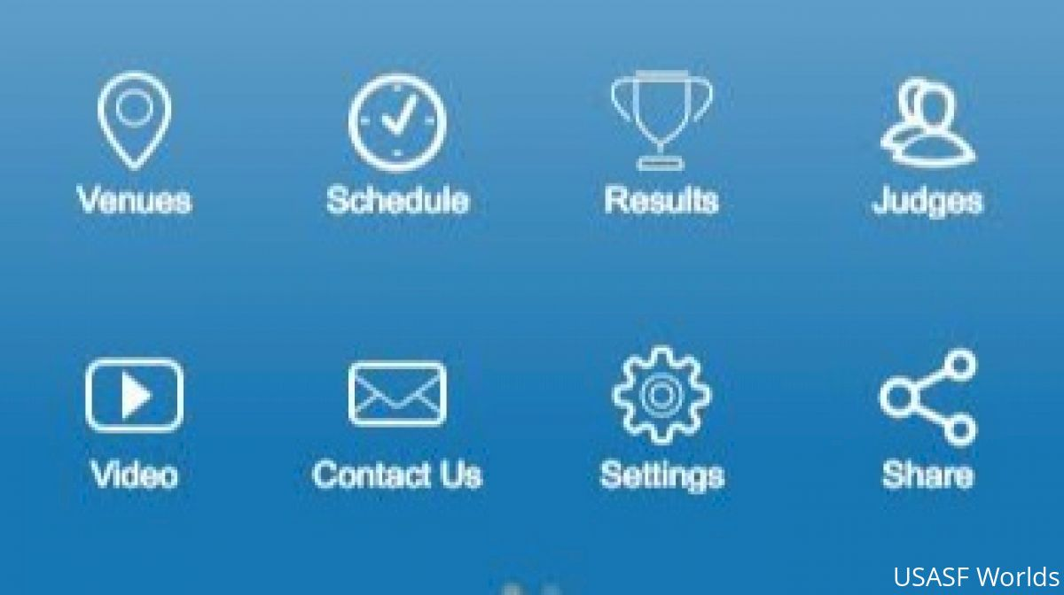 USASF Worlds App Available Now   Get It & Be Informed!