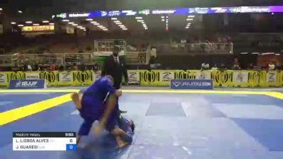 LUCAS LISBOA ALVES vs JEFERSON GUARESI 2021 Pan Jiu-Jitsu IBJJF Championship