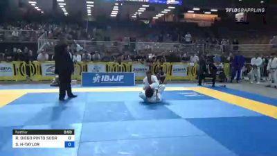 RAIMUNDO DIEGO PINTO SODRE vs SHANE JAMIL HILL-TAYLOR 2021 Pan Jiu-Jitsu IBJJF Championship