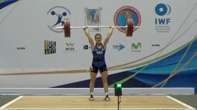 Maddy Myers: 2016 Junior Pan Ams