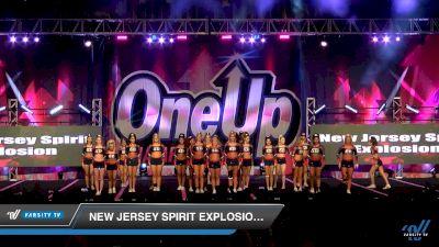 New Jersey Spirit Explosion - Fab 5 [2019 Senior Medium 5 Day 1] 2019 One Up National Championship