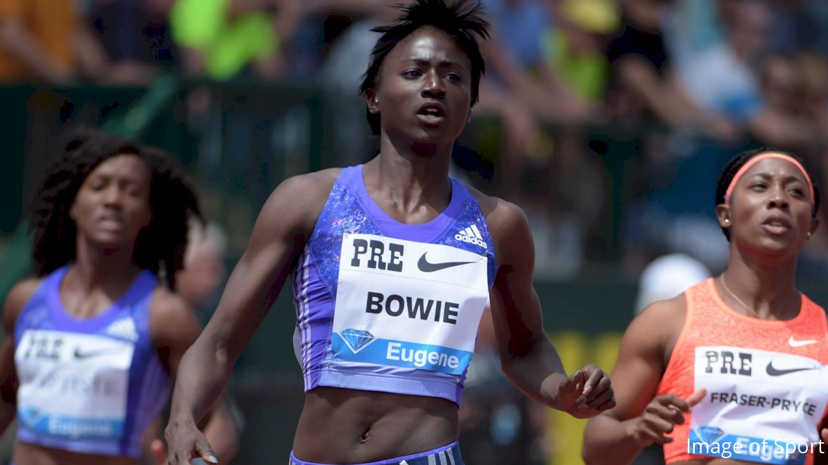 Tori Bowie, Asbel Kiprop, Ameer Webb Put on a Show in Doha