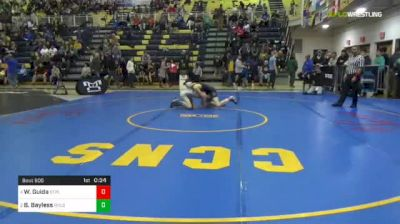 120 lbs Consy 4 - Wil Guida, St. Paul's-MD vs Beau Bayless, Reynolds
