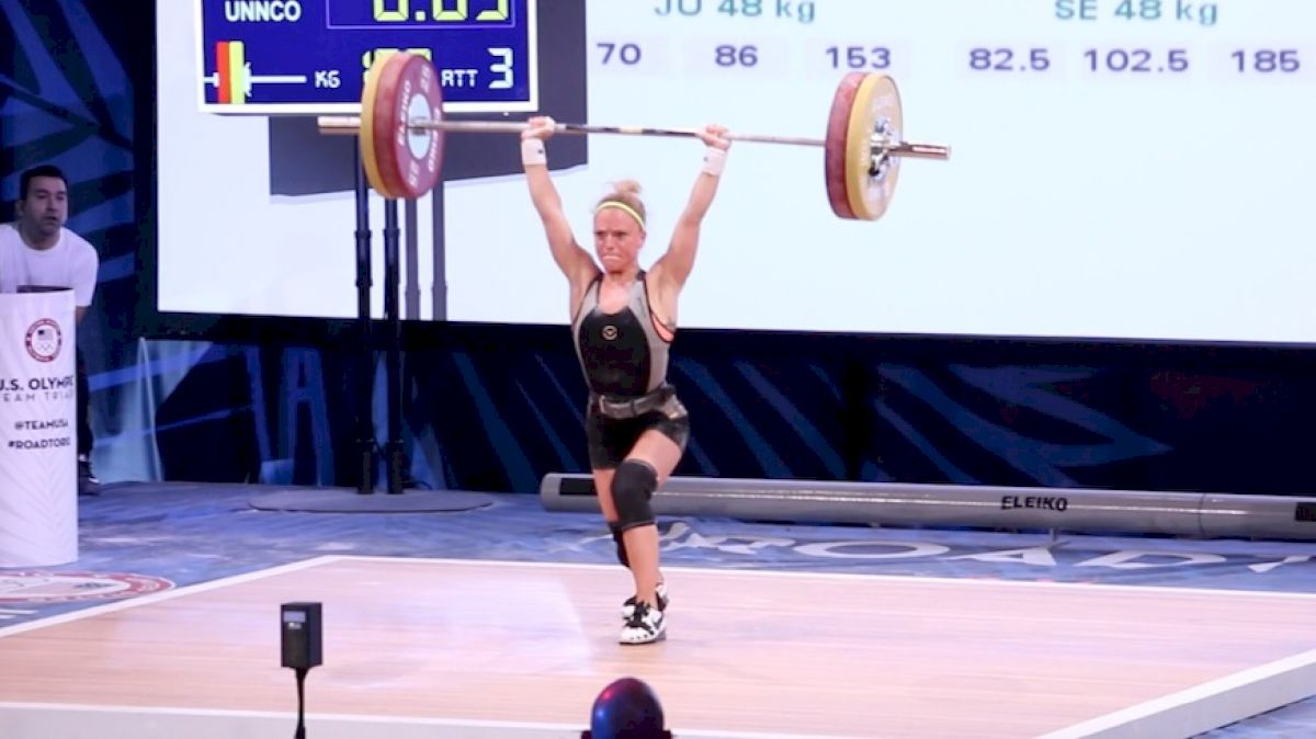 Morghan King at Olympic Trials