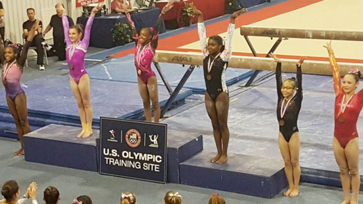 Jaymes Marshall: Little Gymnast, Big Amanar