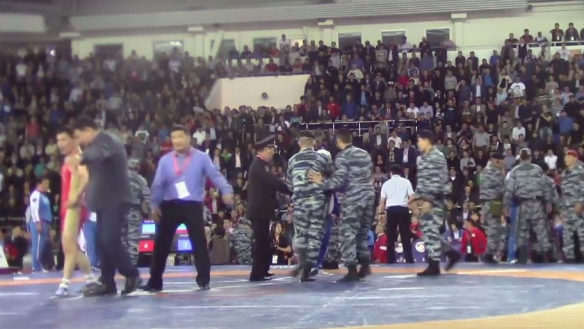 Dagestan Protests at Russian Nationals