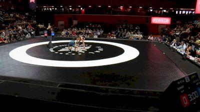57 kg 2 Of 3 - Jenna Burkert, U.S. Army WCAP vs Becka Leathers, Titan Mercury Wrestling Club
