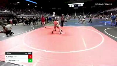 172 lbs Final - Xan Winter, Flathead Valley WC vs Jace DeShazer, Flathead Valley WC