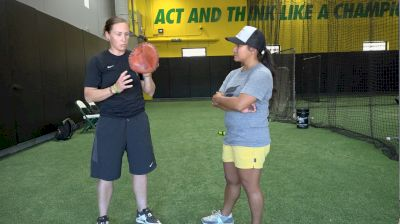 Infield Technique with Chelsea Spencer