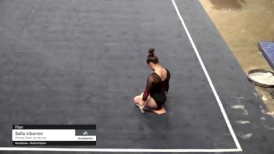 Sofia Iribarren - Floor, Illinois State University - 2021 GymQuarters Invitational