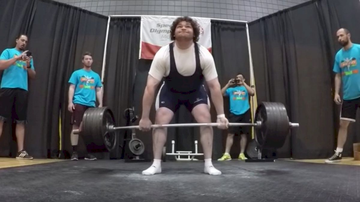James Ellison Sets A New Special Olympics Record With A 660lb Deadlift