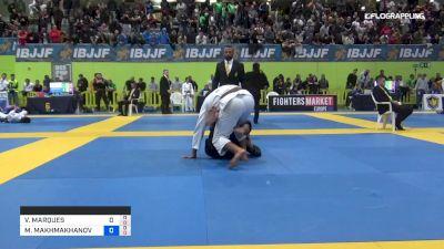 VICTOR MARQUES vs MANSUR MAKHMAKHANOV 2019 European Jiu-Jitsu IBJJF Championship