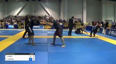 JOSEPH MOKU vs FRANCISCO CARLOS 2018 American National IBJJF Jiu-Jitsu Championship | Grappling