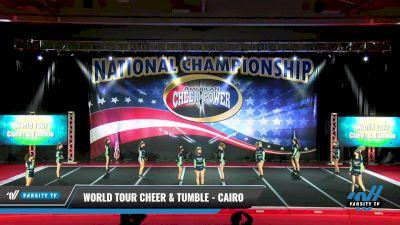 World Tour Cheer & Tumble - Cairo [2021 L3 Junior - D2 Day 1] 2021 ACP: Midwest World Bid National Championship