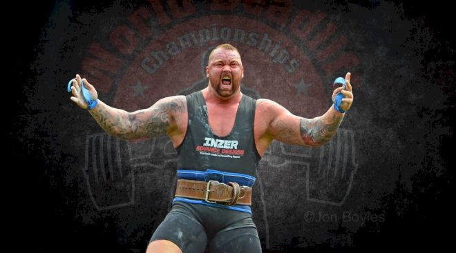 Who Will Be Europe's Strongest Man? Pt.1