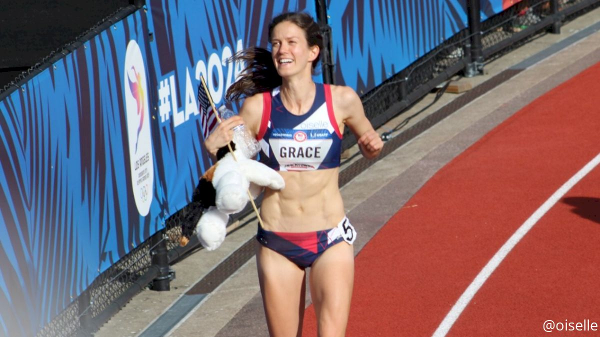 Kate Grace Wins Insane Trials 800m Final, Williams and Wilson Make Rio Team