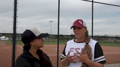 Lonni Alameda on Women's College World Series Experience