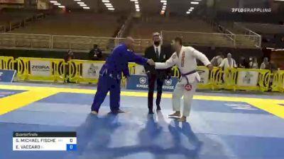 SEAN MICHAEL FISCHER vs EVERETT VACCARO 2020 World Master IBJJF Jiu-Jitsu Championship