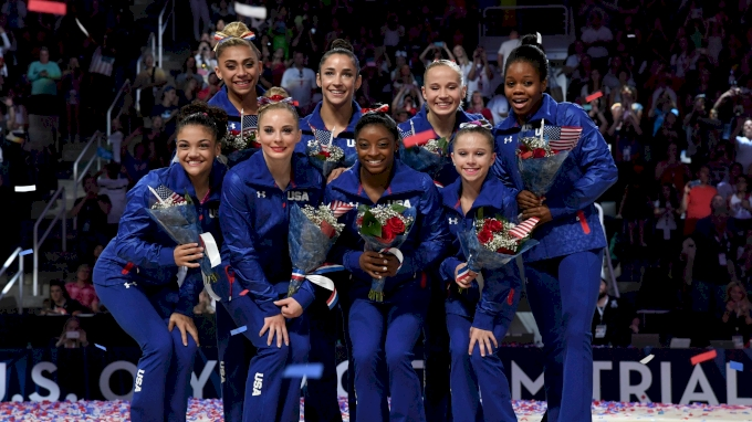 2016 U.S. Women's Olympic Gymnastics Team Named