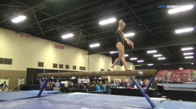 India McPeak - Beam, BGSU - Elevate the Stage - Toledo (NCAA)