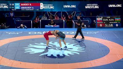 86 kg Final 3-5 - Boris Makoev, Slovakia vs Abubakr Abakarov, Azerbaijan
