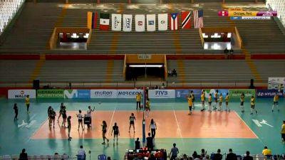 Full Replay - 2019 NORCECA Womens XVIII Pan-American Cup - Group B - Jul 10, 2019 at 3:54 PM CDT