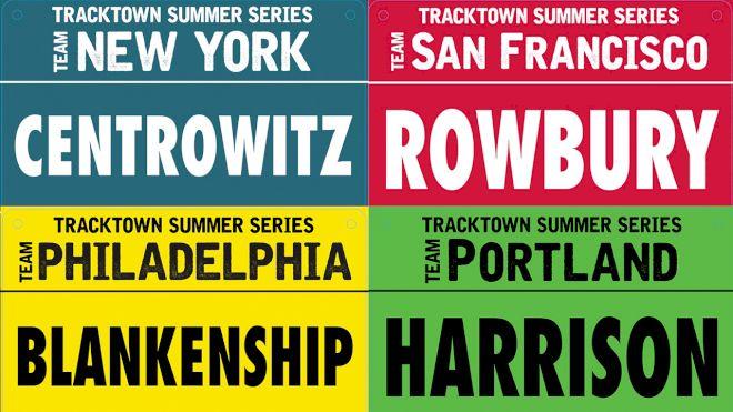 First Look! Tracktown Summer Series Race Bibs
