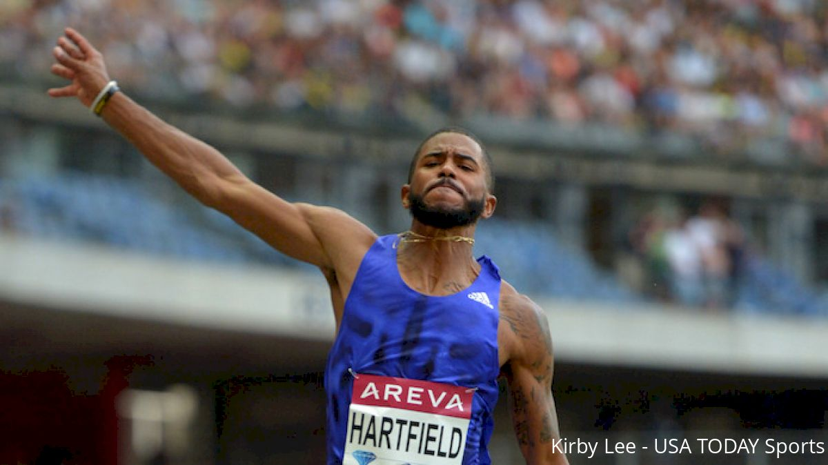 Long Jumper Mike Hartfield Replacing Marquis Dendy in Rio