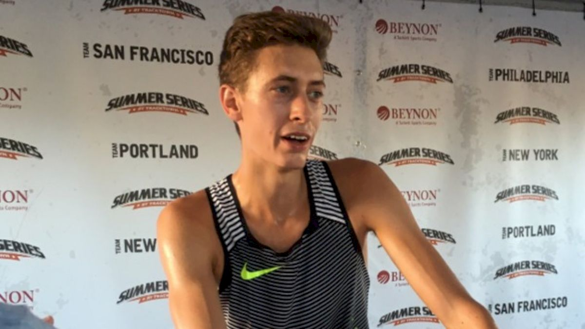 Mason Ferlic Signs with Nike, Runs Steeple PB at TrackTown Summer Series