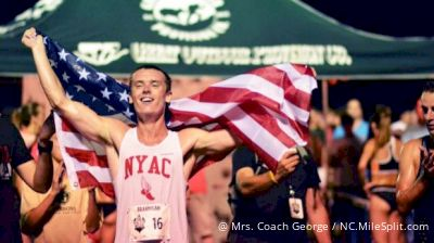 TASTY RACE: Kyle Merber 3:54, Drew Hunter 3:57, Paralympian Brannigan 3:57 At Sir Walter Miler