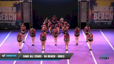 FAME All Stars - VA Beach - IDOLS [2021 L1 Senior Day 1] 2021 ACDA: Reach The Beach Nationals