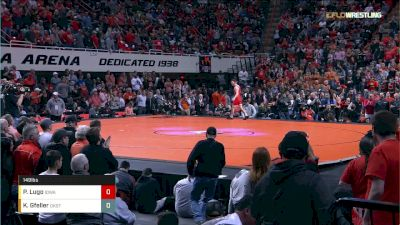 149 lbs P. Lugo, IOWA vs K. Gfeller, OKST