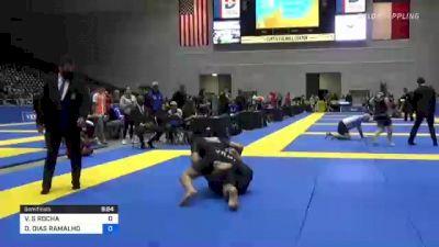 VAGNER S ROCHA vs DIEGO DIAS RAMALHO 2021 World IBJJF Jiu-Jitsu No-Gi Championship